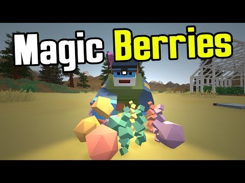 MAN vs UNTURNED - E11 - The Magic of Berries! - Unturned Germany Map Playthrough