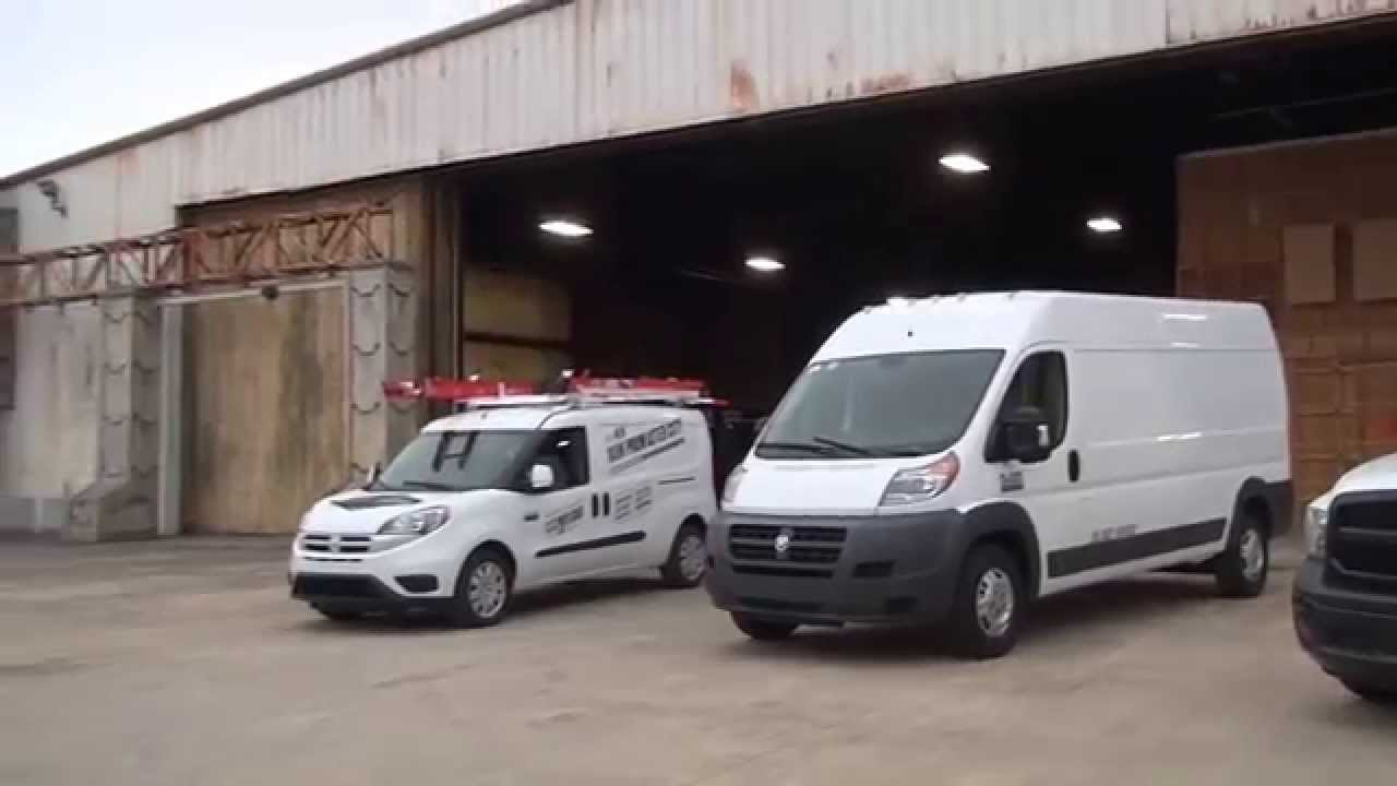 Ford Transit Van >> 1967 Dodge A100 Van to 2015 RAM ProMaster City in Austin, Texas - YouTube
