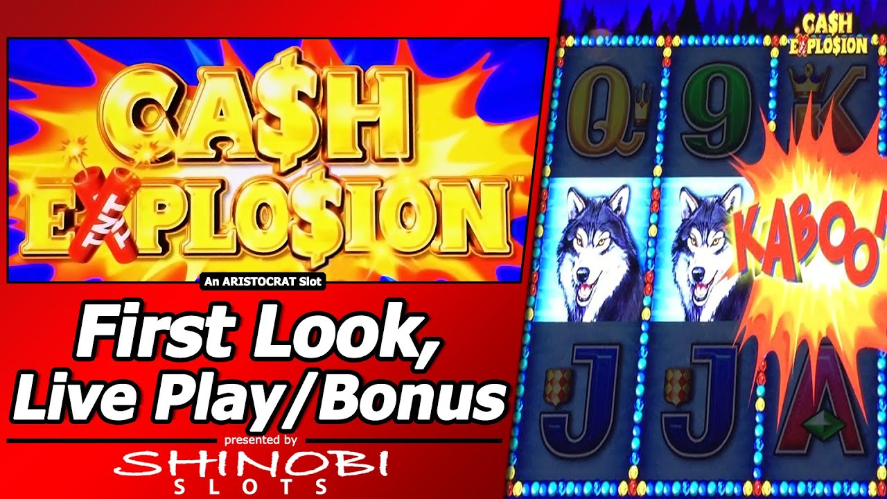 Cash Explosion Slot Machine - Play Online Video Slots for Free
