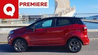 Nuova Ford EcoSport: la B-Suv pronta per l'off-road   Quattroruote