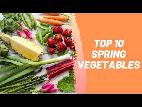 Top 10 Spring Vegetables