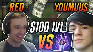 REDMERCY VS YOUMUUS!! | $100 1v1 SHOWDOWN!! - League of Legends
