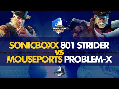 SONICBOXX 801 Strider Vs MOUSEPORTS Problem-X - NA Regional Finals 2019 Open Premier Top 8