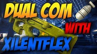 MW3: P90 MOAB - Confidence is Key (Dual Comm w/ XilentFlex) (Modern Warfare 3 Gameplay/Commentary)