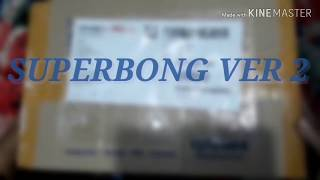 SUPER JUNIOR OFFICIAL LIGHTSTICK UNBOXING - SUPERBONG VERSIO…
