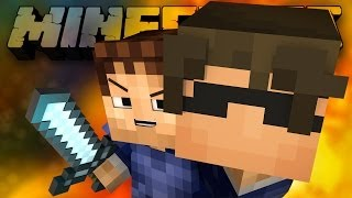 THE BATTLE FOR SPAWN! (Minecraft Battle-Dome with BajanCanadian, SkyDoesMinecraft, and Friends!)