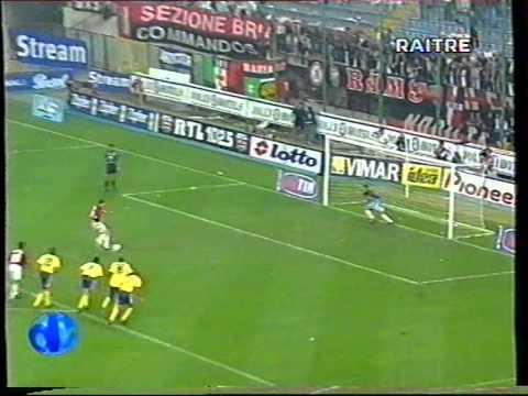 Serie A 1999/2000: AC Milan vs Bologna 4-0 - 1999.09.25 ...