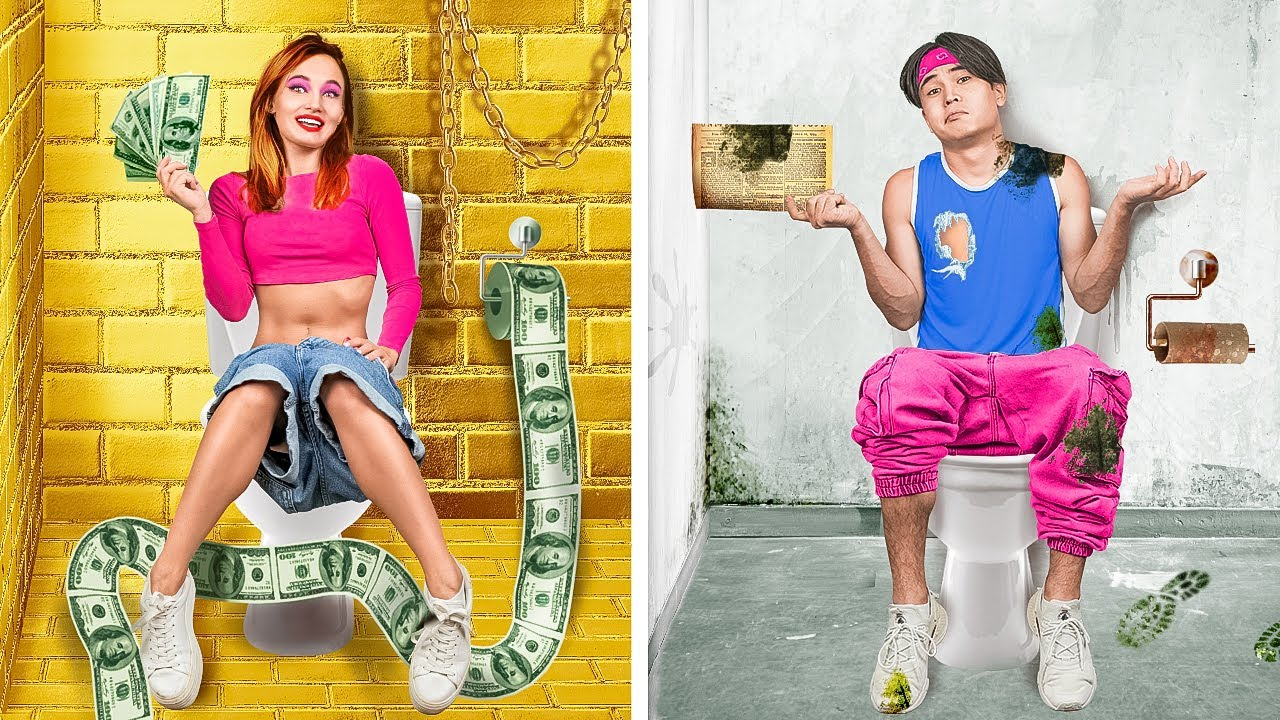 RICH Popular VS BROKE Unpopular - Girls VS Boys in the Village | Funny Relatable by La La Life