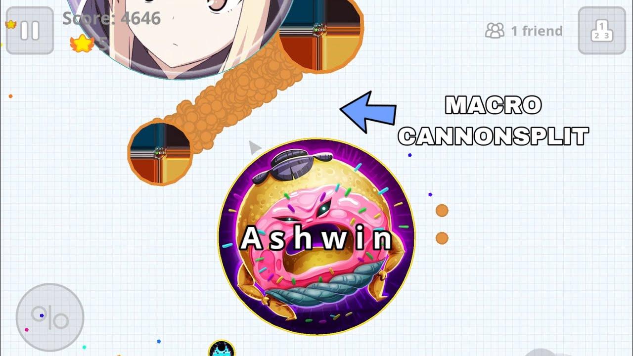 DESTROYING MACRO PLAYERS ! (Agar.io Mobile Gameplay)