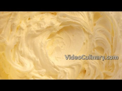 Easy Buttercream Frosting - Basic Recipe - VideoCulinary