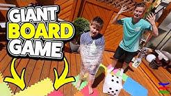 GIANT BOARD GAME IN REAL LIFE 🤣 KRASS TipTapTube