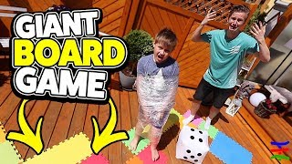 GIANT BOARD GAME IN REAL LIFE 🤣 KRASS TipTapTube