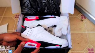"Air Jordan 6 Retro Low ""Infrared 23"" Unboxing Review and On Feet!"