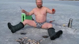 Приколы на рыбалке! Смешные ролики о  рыбалке.