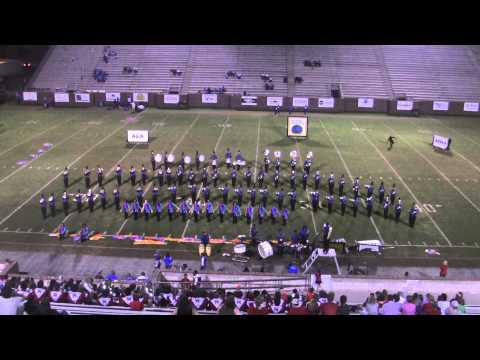 Bradwell Institute Marching Band - October 18, 2013