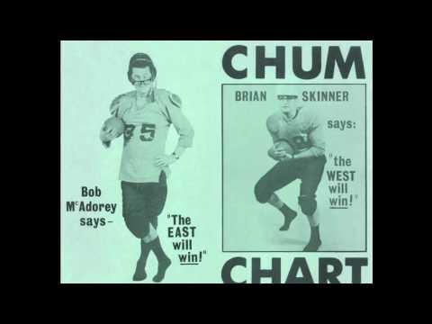 CHUM 1050 Toronto - CHUM Musicreations Bat Radio Jingles - 1966