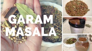 homemade punjabi garam masala recipe