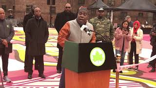 Tracy Morgan at Marcy Playground Last OG Dedication