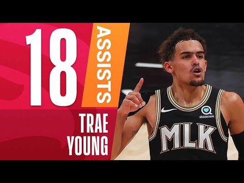 Trae Becomes YOUNGEST Player to Drop 18+ Assists inPlayoffs! 🚨