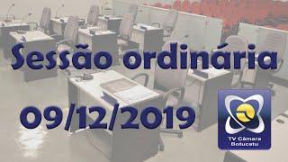 Sessão Ordinária - 09/12/2019