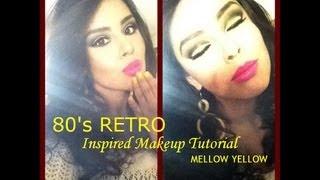 80's Retro Inspired Makeup Tutorial (NYX Cosmetics Face Awards)