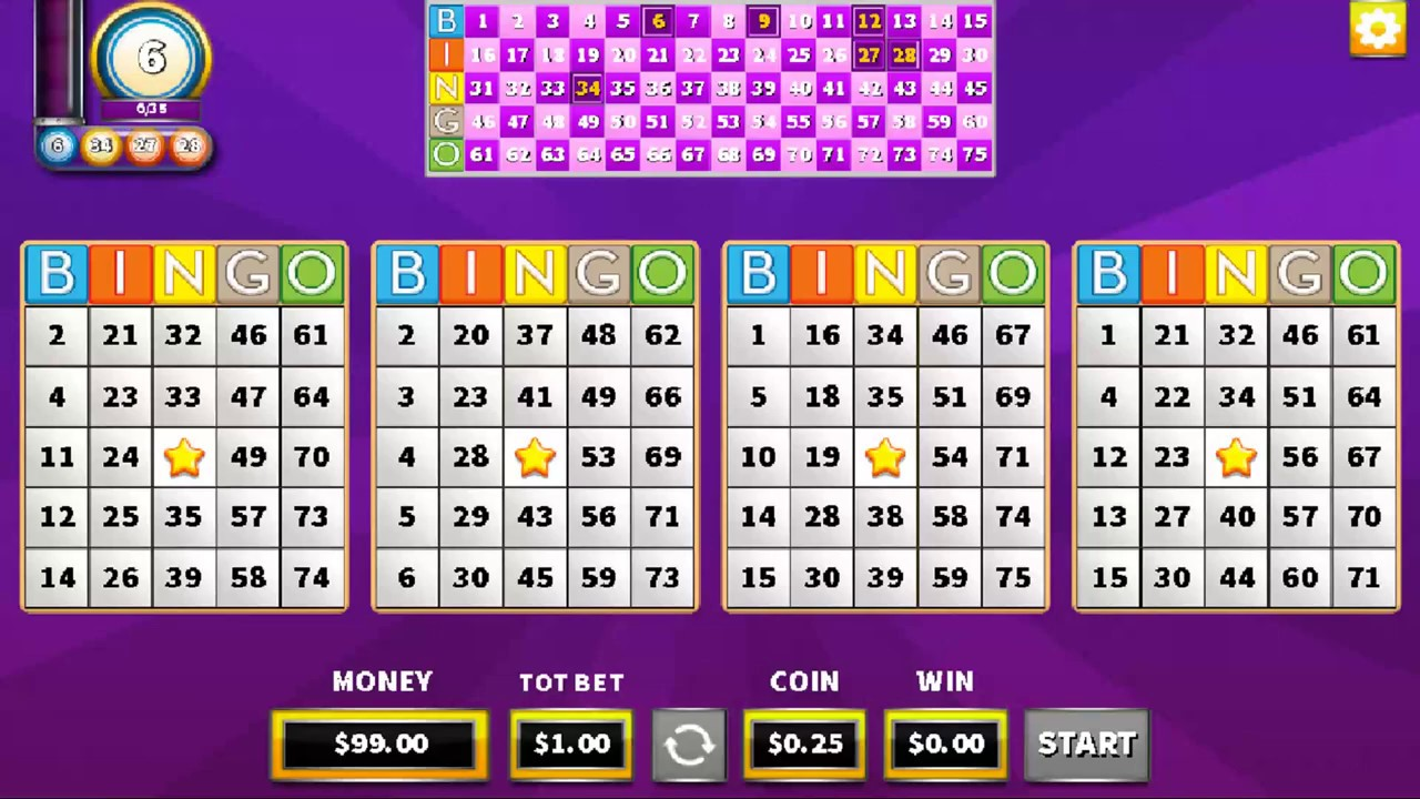 Arkadium Bingo