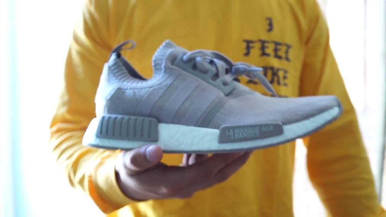 688484fc3 ADIDAS NMD PK FRENCH BEIGE - REVIEW  ON FEET - YouTube