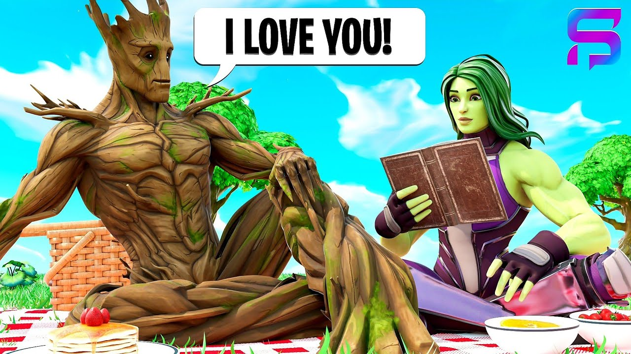 Download GROOT LEARNS HOW TO TALK.... ( Fortnite Short )