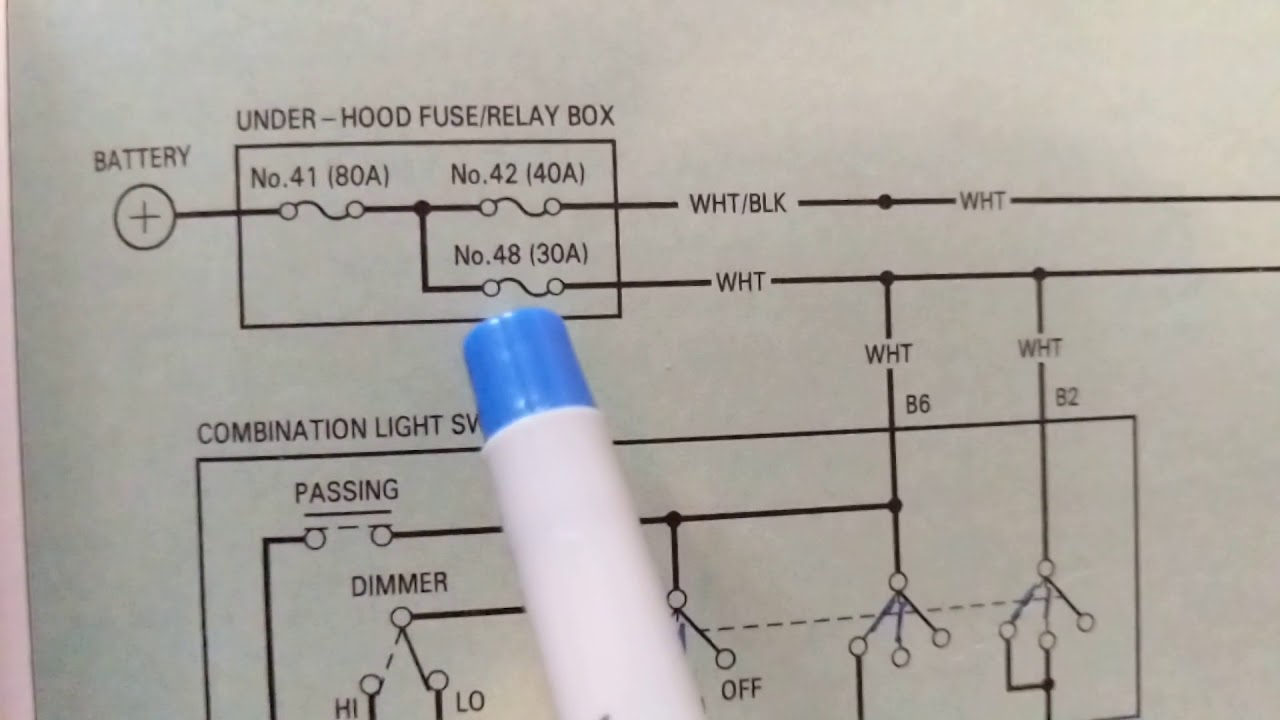 How To Read Automotive Wiring Diagrams The Most Simplified