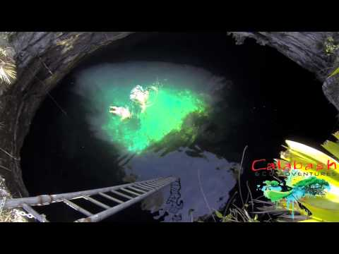 Freeport Grand Bahama Inland Blue Hole Adventure May 18 2015 Extended version tour