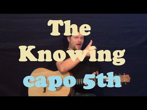 The Knowing (THE WEEKND) Guitar Lesson Strum Chords Easy How to Play ...