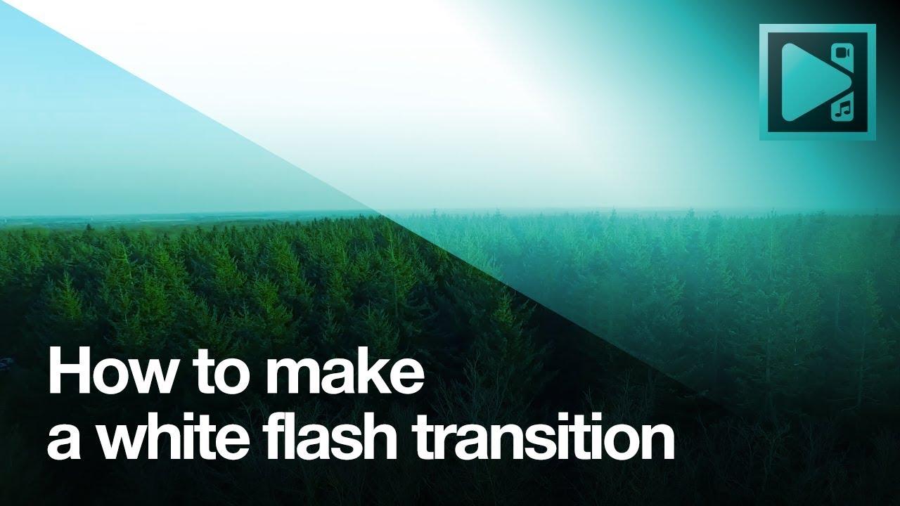 Lifehack: make a white flash transition with VSDC Video Editor