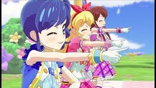 【HD】Aikatsu! - ♪Original Star☆彡BAHASA INDONESIA(Ichigo Hoshimiya, Aoi Kiriya & Ran Shibuki )