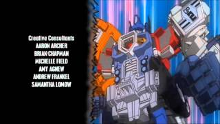TRANSFORMERS CARTOONS INTROS AND OUTROS