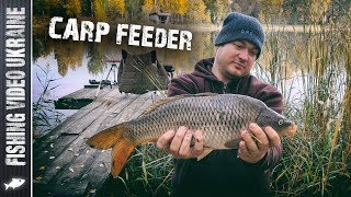 Ловля карпа на фидер (Озеро Королек) Carp Feeder | FishingVideoUkraine
