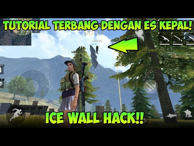 KOK BISA!? Membuat  Menara Es Kepal di Langit, Eksperimen Ice Wall - Garena Free Fire Indonesia HD