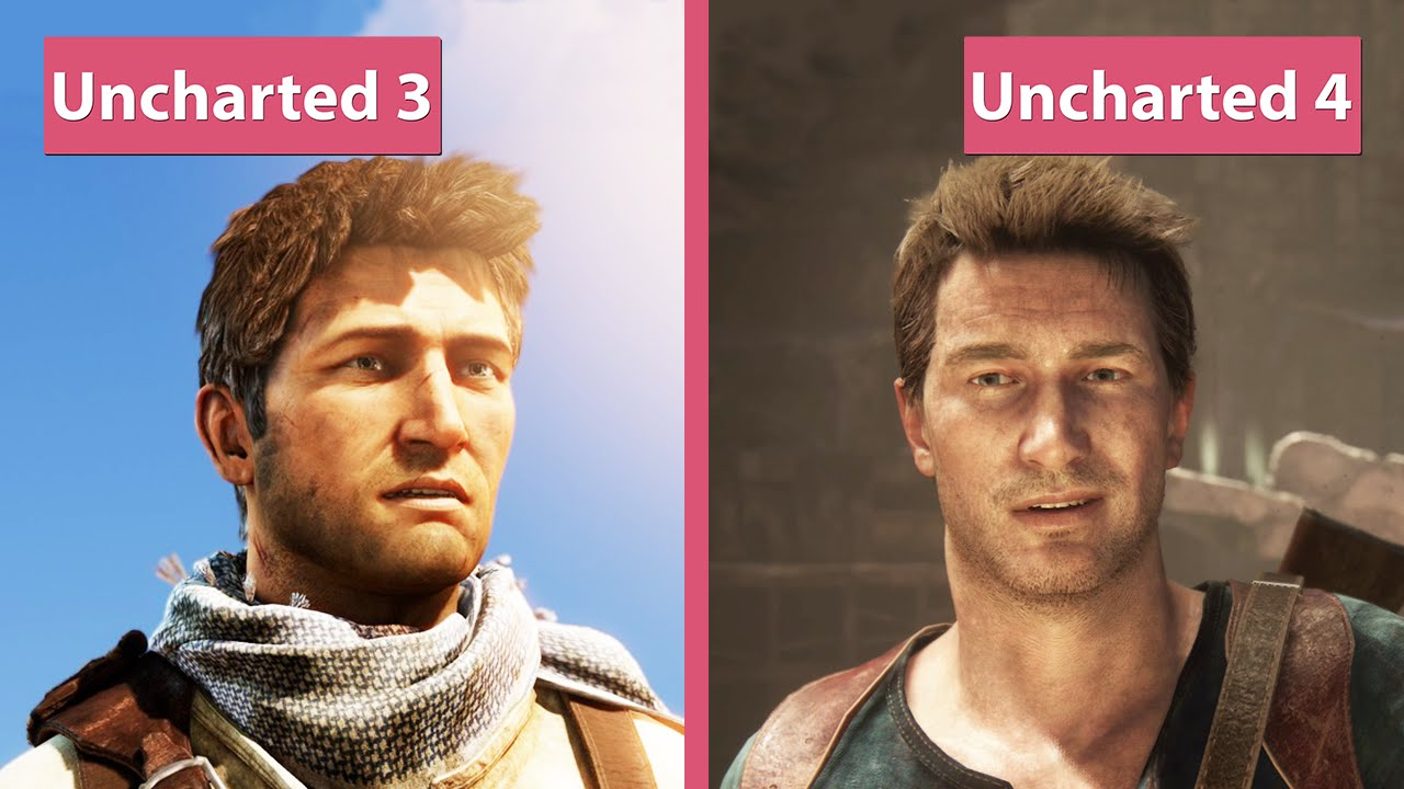 Uncharted 4 Ps4 Vs Uncharted 3 Ps3 Graphics Comparison Youtube
