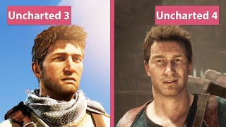 Uncharted 4 PS4 vs. Uncharted 3 PS3 Graphics Comparison