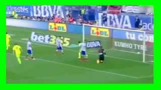 هدف ميسي يقود برشلونة للفوز بلقب الدوري الاسباني 2015