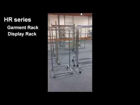 01 Garment clothes metal chrome Rack / Retail Display Hi-star Shop fitting