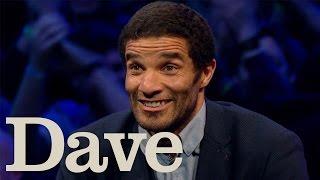 Dara O Briain's Go 8 Bit S1 E1 | David James Loses To Steve McNeil At Tekken | Dave