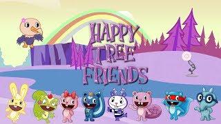 902-Happy Tree Friends Spoof Pixar Lamp Luxo Jr Logo
