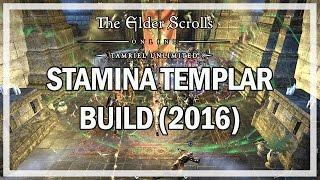 DPS Stamina Templar PvE Build Guide 2016 - The Elder Scrolls Online Gameplay