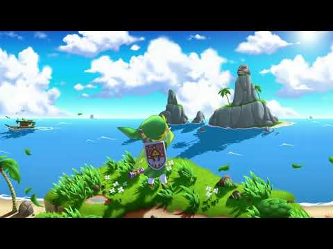Relaxing The Legend Of Zelda: The Wind Waker Music