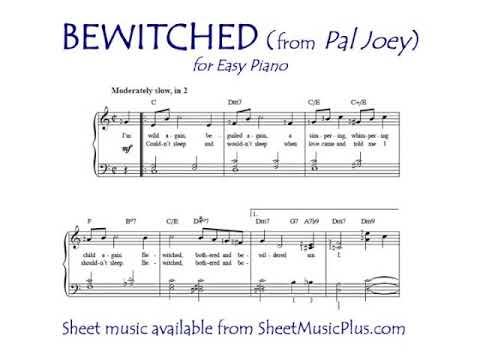 Bewitched (Easy Piano)
