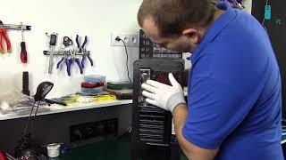 komputer na mikołaja składanie i prezentacja