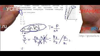 ЕГЭ по физике А8.Подготовка онлайн.Видео Репетитор.