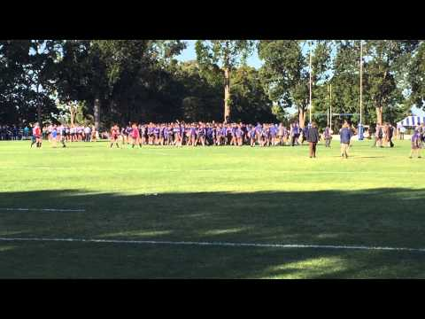 Victori Spolia -To the Victor goes the Spoils -Churchie 27-7 rugby win over Nudgee 2015 at Ross Oval