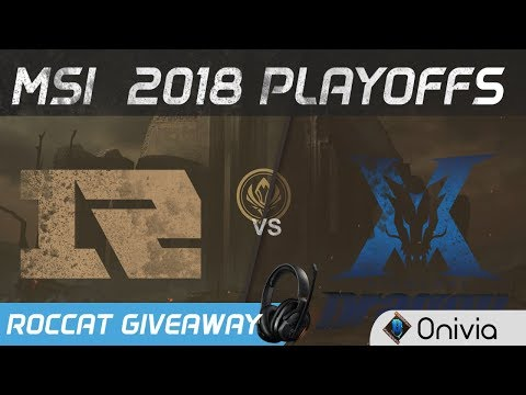 RNG vs KZ Highlights Game 1 MSI 2018 Playoffs Royal Never Give Up vs KingZone DragonX by Onivia
