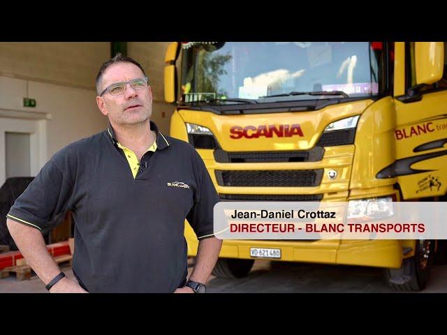 Vidéo de présentation Blanc Transports SA